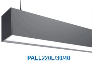 Đèn lắp nổi, treo trần 49w PALL220L/30/40