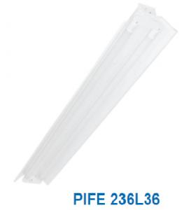 Đèn vòm phản quang 2x18w PIFE 236L36
