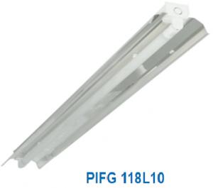 Đèn vòm phản quang 1x10w PIFG 118L10