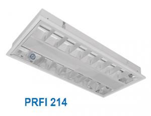 Máng huỳnh quang âm trần hoặc gắn nổi 2x14w PRFI 214