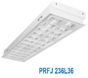 Máng đèn led âm trần 2x18w PRFJ 236L36