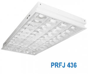 Máng đèn huỳnh quang âm trần 4x36w PRFJ 436
