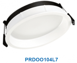 Đèn led downlight gắn âm 7w PRDOO104L7