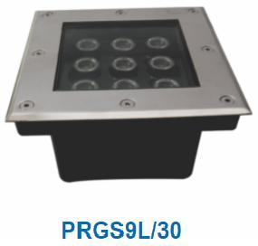 Đèn led âm sàn 9w PRGS9L/30