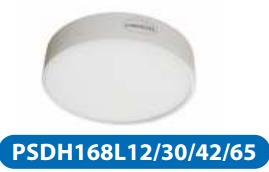 Đèn led downlight gắn nổi 12w PSDH168L12/30/42/65
