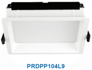 Đèn led downlight gắn âm 9w PRDPP104L9