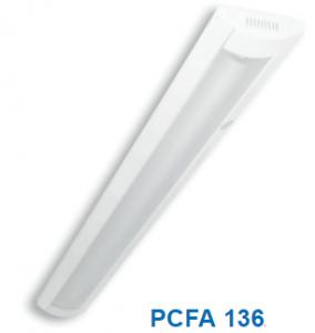 Đèn lắp nổi chóa nhựa 1x36w PCFA 136