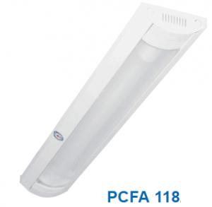 Đèn lắp nổi chóa nhựa 1x18w PCFA 118