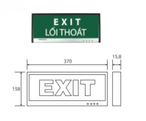 Đèn thoát hiểm 3w PEXA13SW