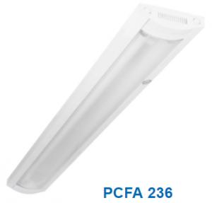 Đèn lắp nổi chóa nhựa 2x20w PCFA 236L36