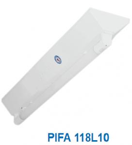 Máng đèn chữ V (V- shape) 1x10w PIFA 118L10