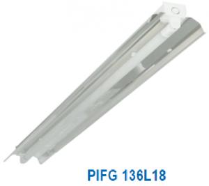 Đèn vòm phản quang 1x18w PIFG 136L18