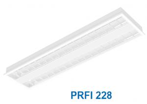 Máng huỳnh quang âm trần hoặc gắn nổi 2x28w PRFI 228
