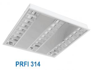Máng huỳnh quang âm trần hoặc gắn nổi 3x14w PRFI 314
