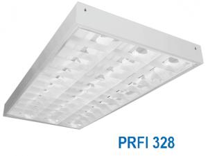 Máng huỳnh quang âm trần hoặc gắn nổi 3x28w PRFI 328