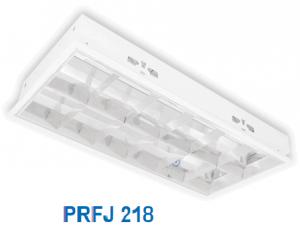 Máng đèn huỳnh quang âm trần 2x18w PRFJ 218