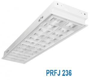 Máng đèn huỳnh quang âm trần 2x36w PRFJ 236