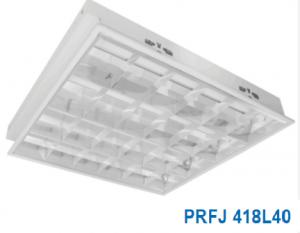 Máng đèn led âm trần 4x10w PRFJ 418L40