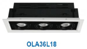Đèn led downlight gắn âm 18w OLA36L18/30/42/65