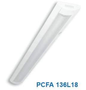 Đèn lắp nổi chóa nhựa 1x20w PCFA 136L18