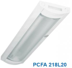 Đèn lắp nổi chóa nhựa 2x10w PCFA218L20