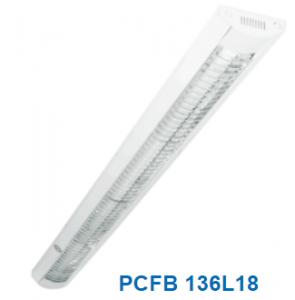 Đèn lắp nổi chóa nhựa 1x20w PCFB 136L18